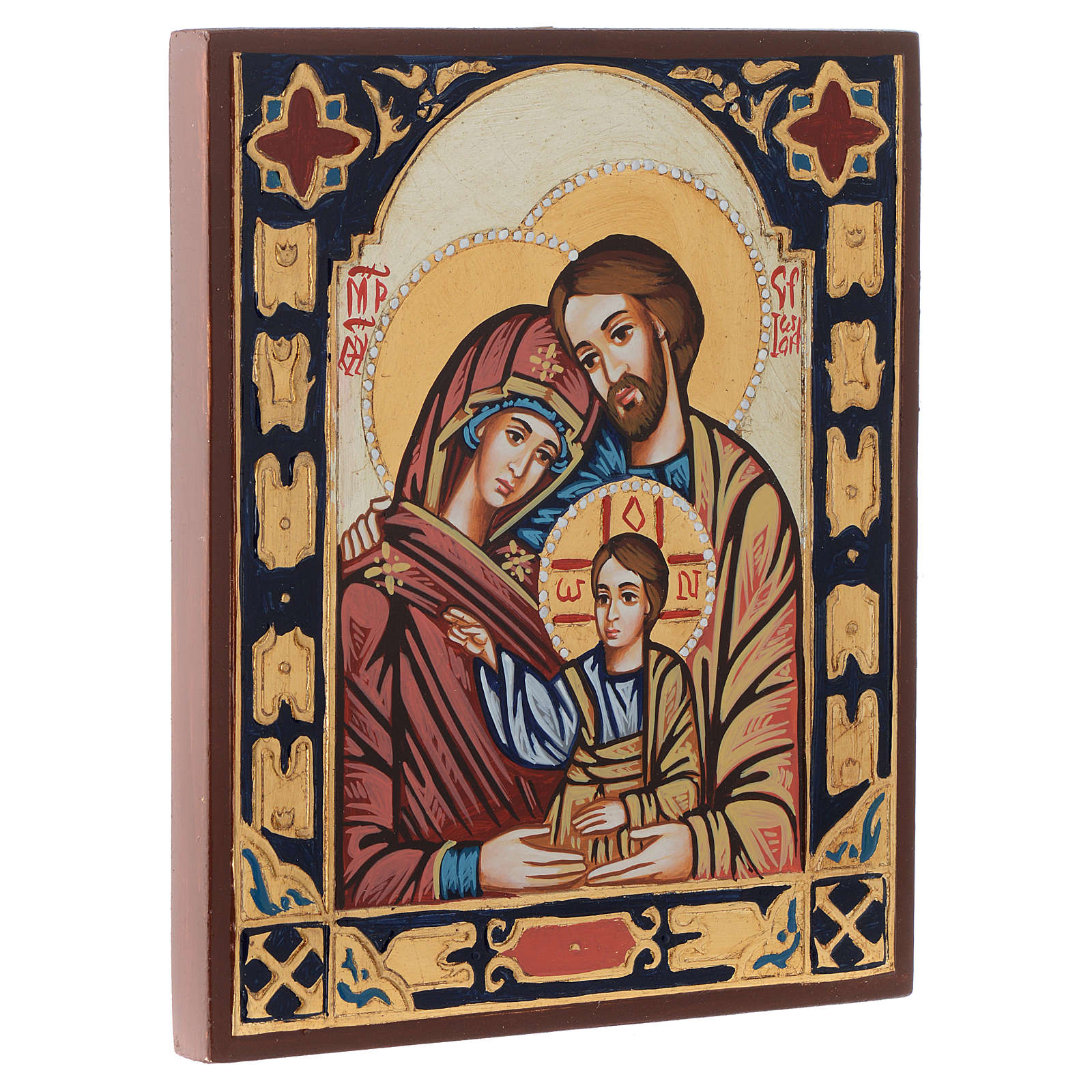 Icona Sacra Famiglia bizantina 4