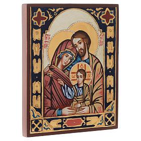 Icona Sacra Famiglia bizantina s2