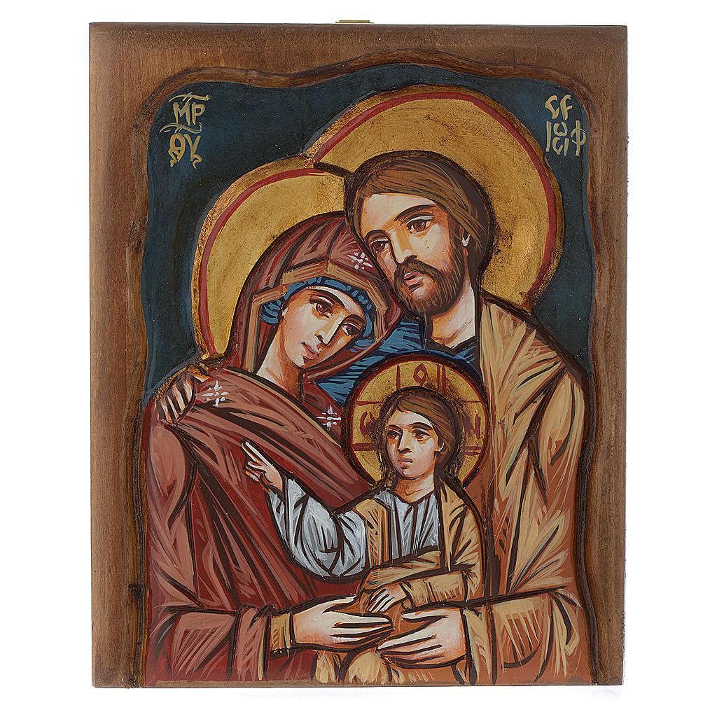 Icona della Sacra Famiglia Romania 4