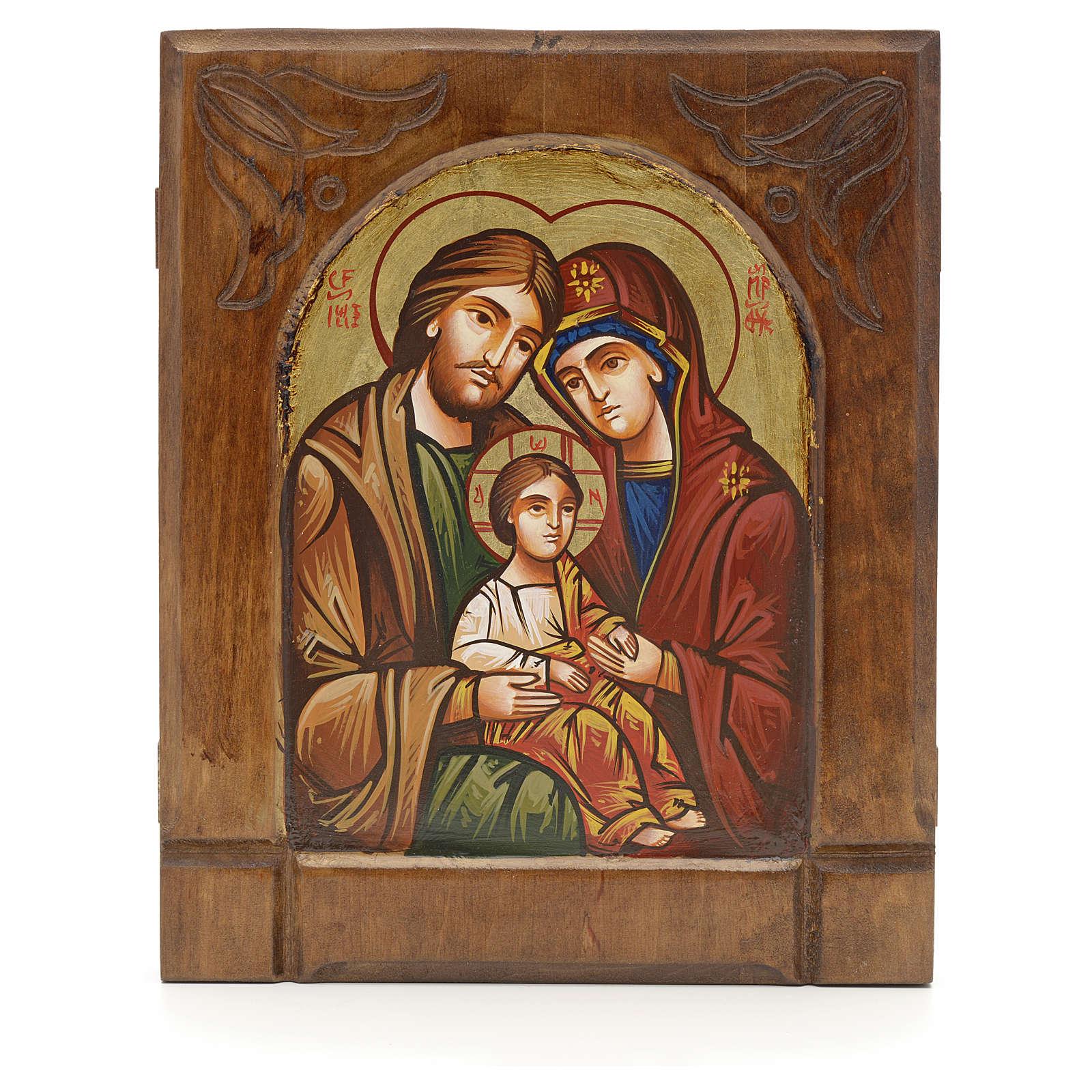 Icône Byzantine de la Sainte Famille 4