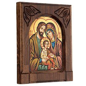 Icona bizantina della Sacra Famiglia s3