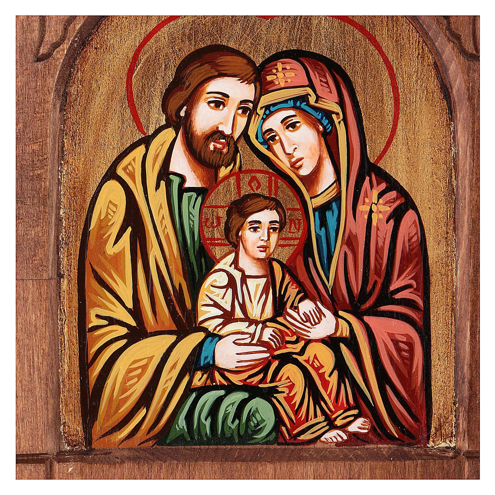 Ícone bizantino da Sagrada Família 4
