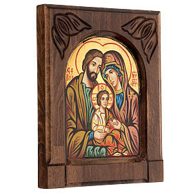 Byzantine icon of the Holy Family s3