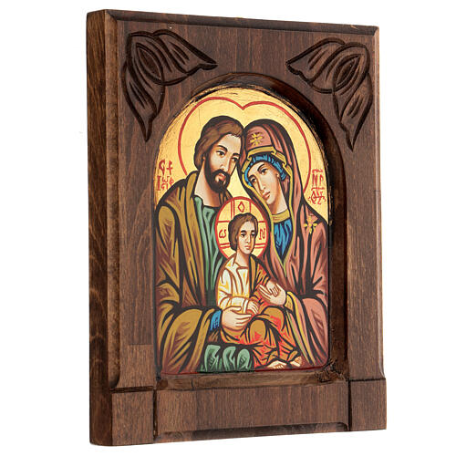 Byzantine icon of the Holy Family 3