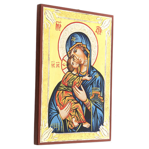 Icone roumaine Vierge de Vladimir 3