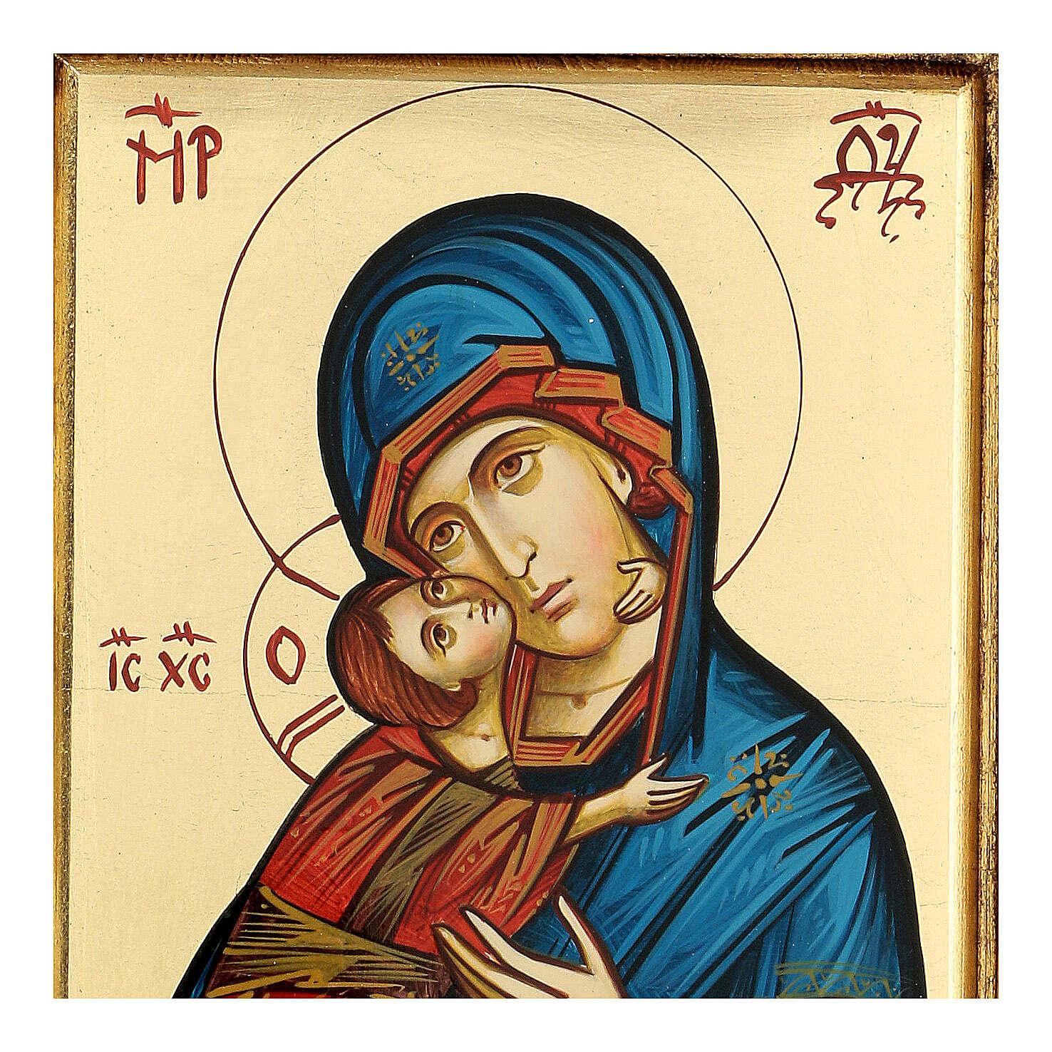 Icona Vergine Vladimir della Tenerezza 4