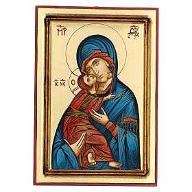 Icona Vergine Vladimir della Tenerezza s1