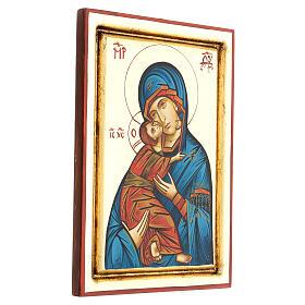 Icona Vergine Vladimir della Tenerezza s3