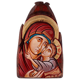 Rumanian hand-painted icons: Icon of the Virgin of Kasperov