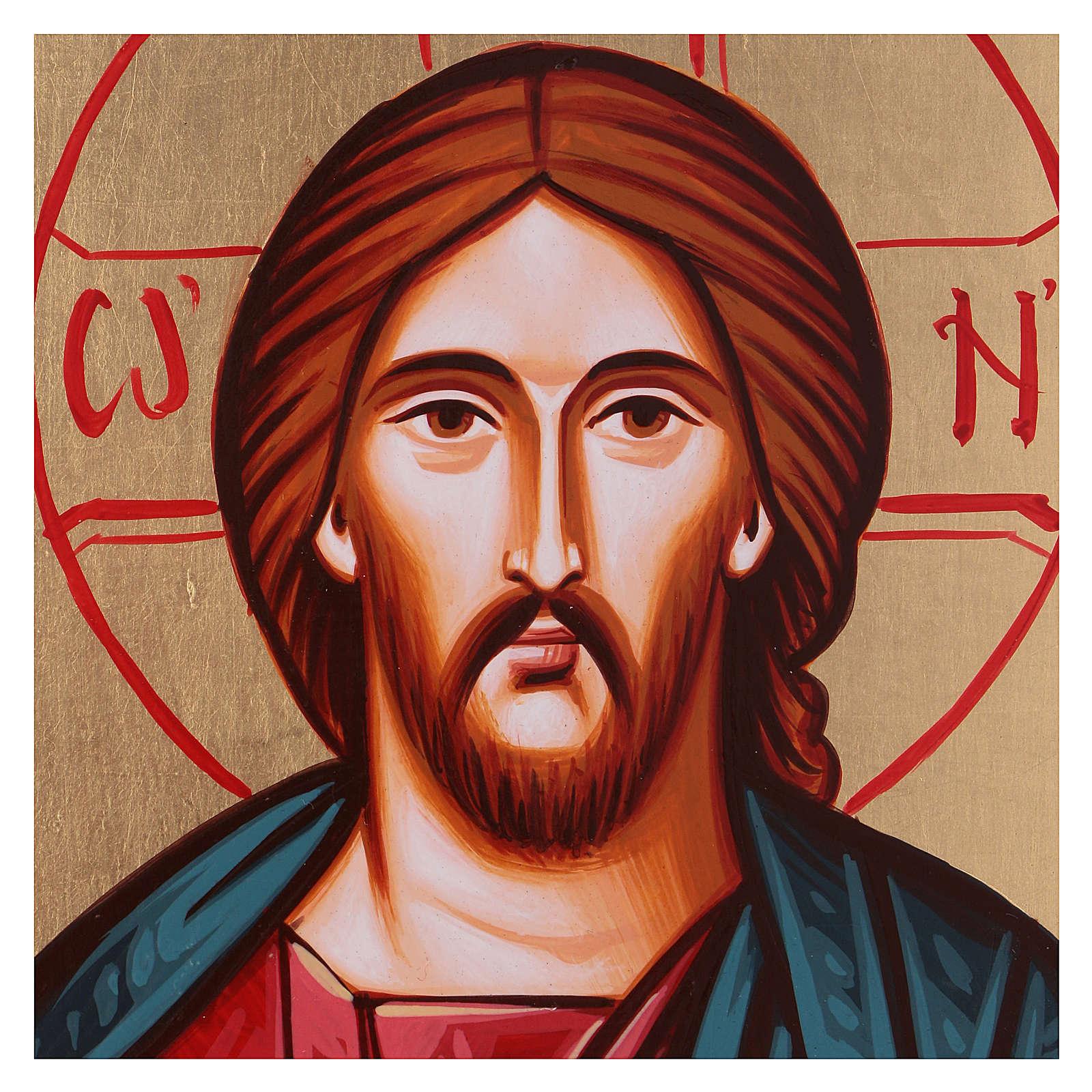 Icona Cristo Pantocratico con smusso 4