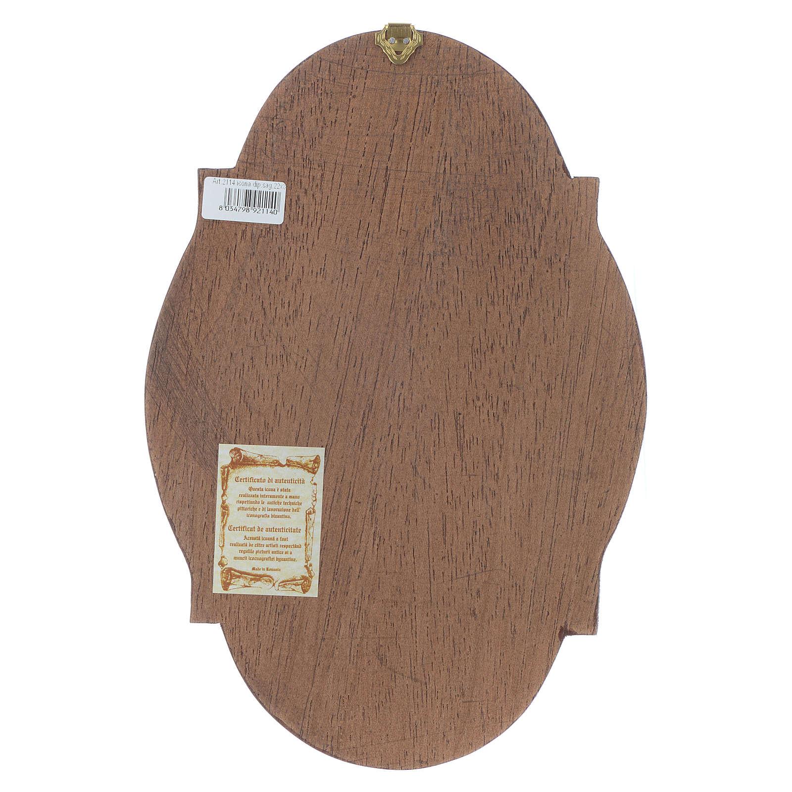 Icona San Marco ovale 4