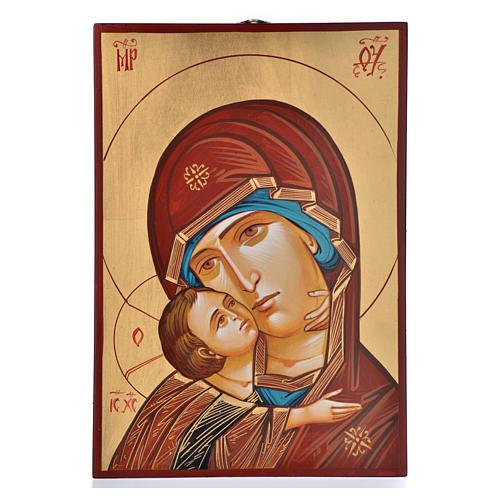 Icona Vergine di Vladimir serie limitata e numerata nr. 92 1