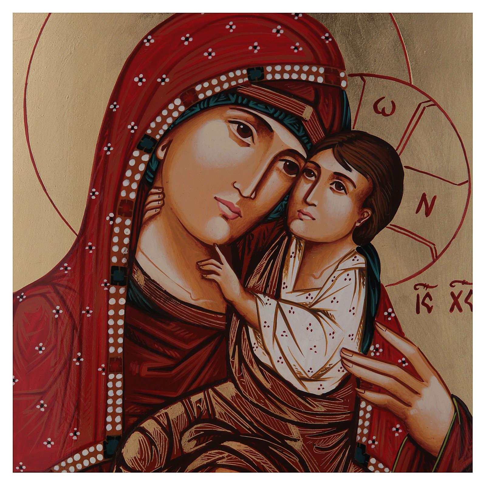 Madonna Giatrissa con Gesù in braccio 44x32 cm 4