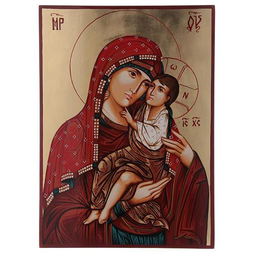 Madonna Giatrissa con Gesù in braccio 44x32 cm 1