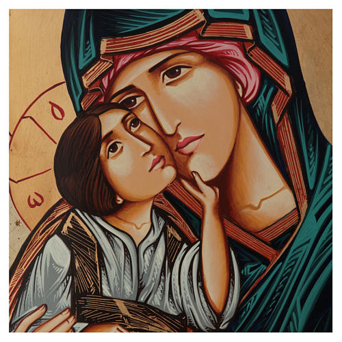 Virgen Odigitria Icono Rumanía 70x50 cm 2
