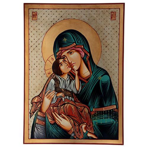 Vierge Odighitria icône Roumanie 70x50 cm 1
