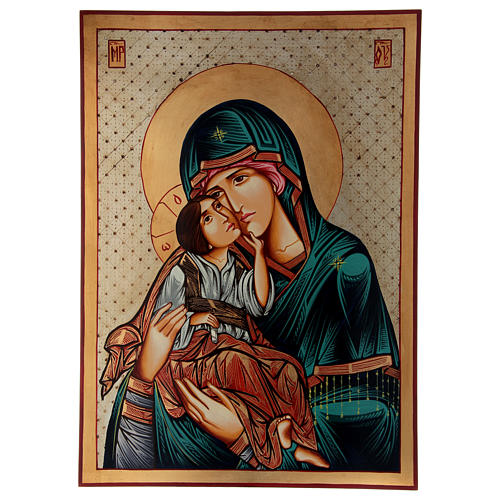 Vergine Odigitria Icona Romania 70x50 cm 1