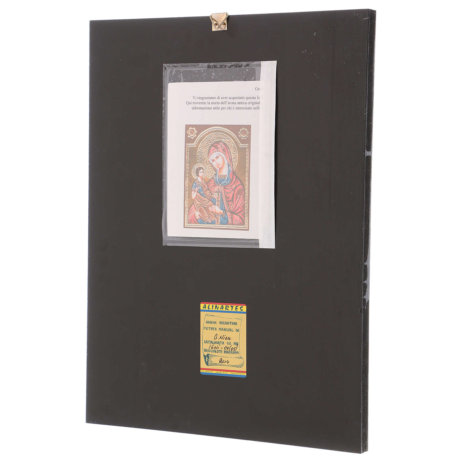 Romanian icon of Our Lady of Hodighitria 40x30 cm 4
