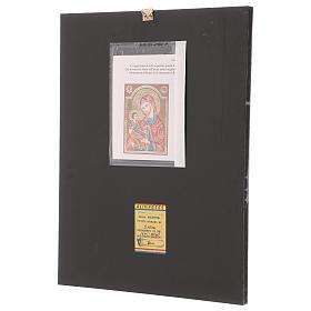 Icona Madre di Dio Hodighitria 40x30 cm dipinta Romania s3