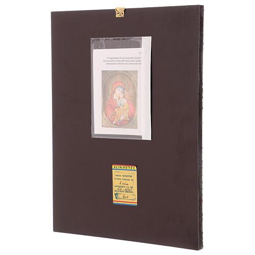 Icona Madre di Dio Jaroslavskaja 40x30 cm dipinta Romania 3