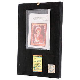 Romanian icon of Mother of God 30x25 cm s3