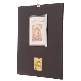 Icona Madre della Tenerezza 40x30 cm dipinta Romania s3