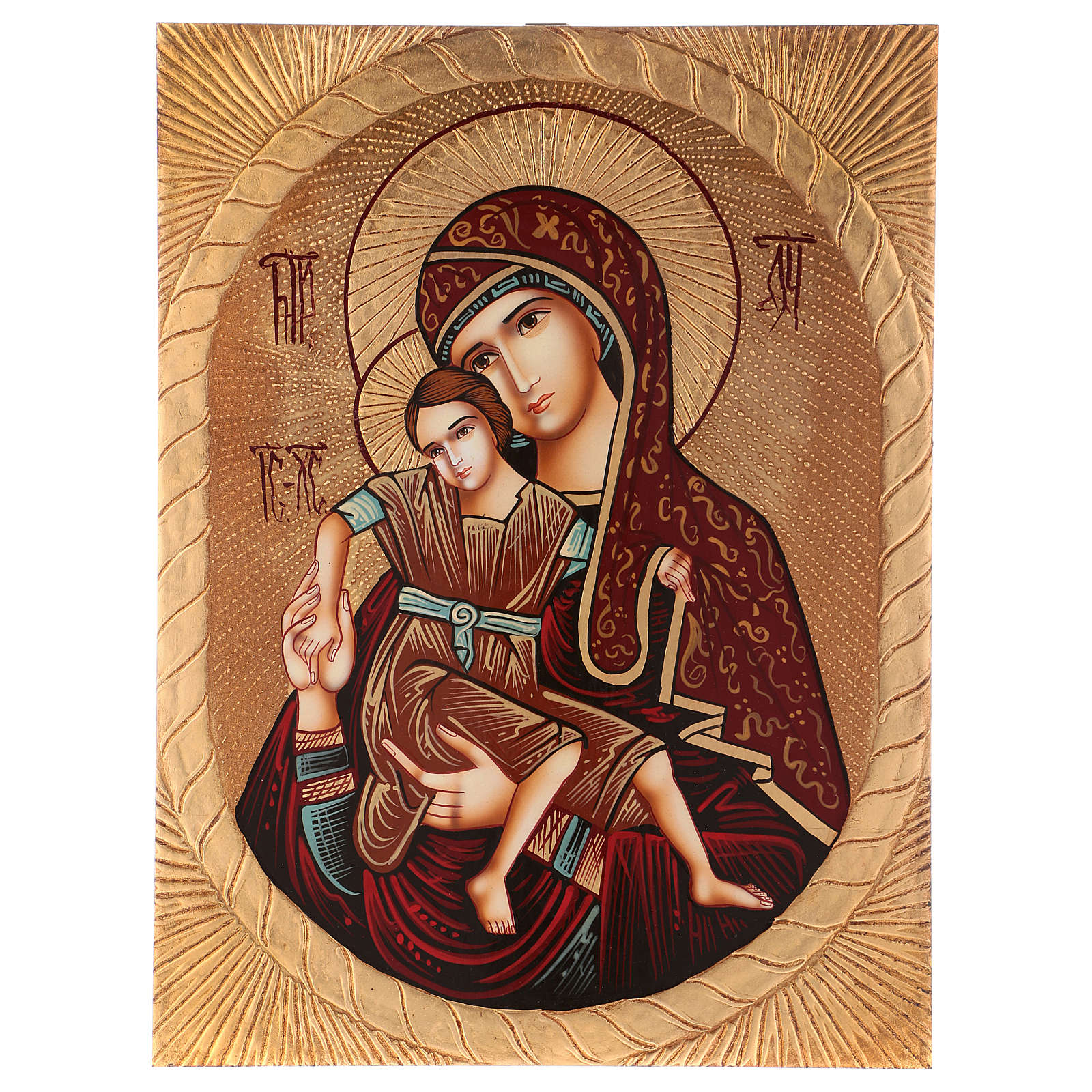 Icon of Our Lady of East Dostojno 40x30 cm 4
