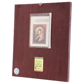 Icon of Our Lady of Hodighitria with frame 40x30 cm s3