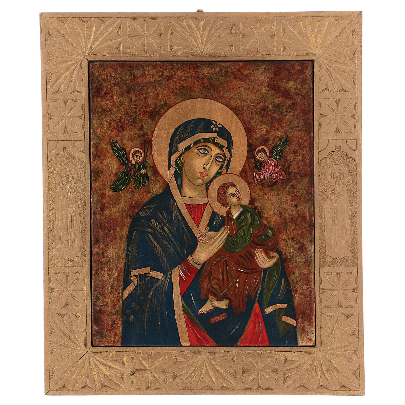 Icon The Passion, 40x30 cm painted Romania 4