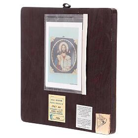 Icono Cristo Maestro y Juez 25x25 cm pintado Rumanía s4