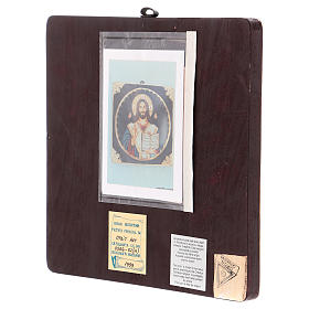 Icona Cristo Maestro e Giudice 25x25 cm dipinta Romania s4