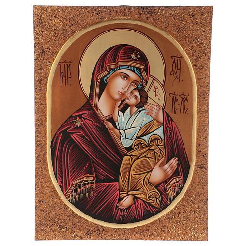 Icon of Our Lady of Jaroslavkaja 40x30 cm 1