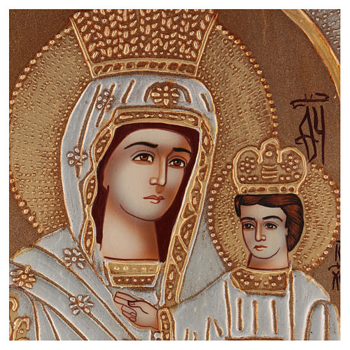 Icon of Our Lady of Hodighitria 40x30 cm 2