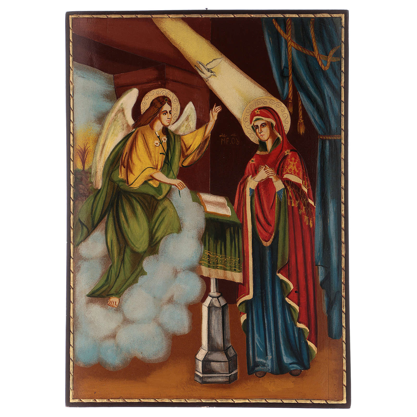 Icon of the Annunciation 40x30 cm 4