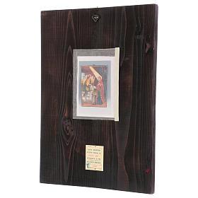 Icona Annunciazione 40x30 cm dipinta Romania s3