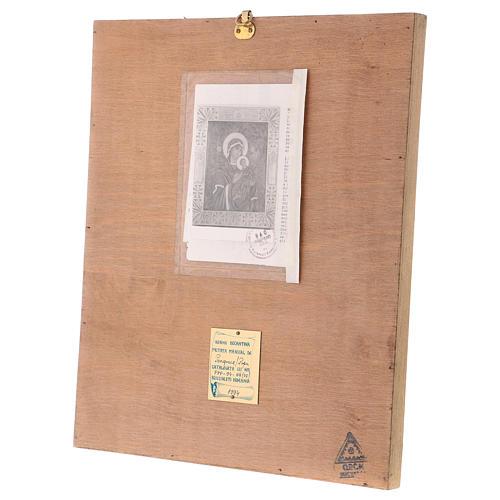 Icona Madonna del Perpetuo Soccorso 40x30 cm dipinta Romania 7