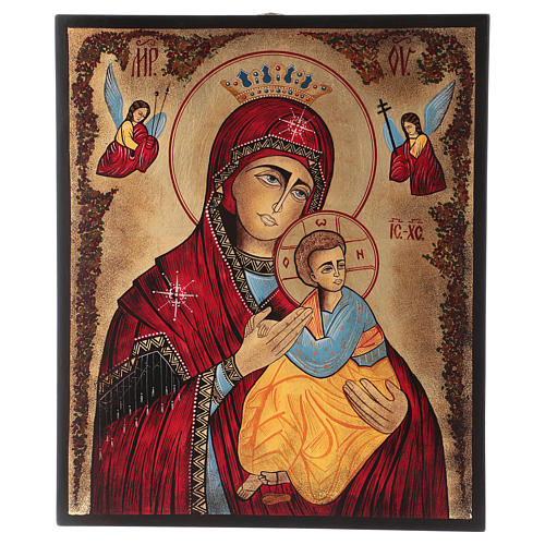 Icon of Our Lady of Perpetual Help 40x30 cm 1