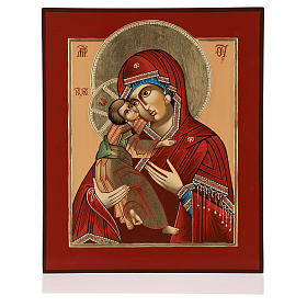 Madonna of Tenderness Vladimirskaya 36x30 hand painted in Romania s1