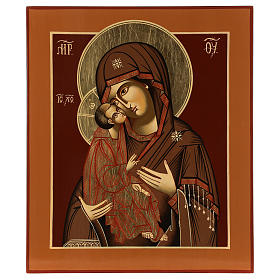 Mother of God Donskaja 33x28 cm hand painted in Romania s1