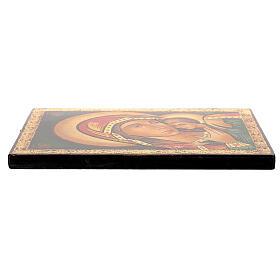 Icona Madre di Dio Kasperovskaja 30x20 cm dipinta Romania s3