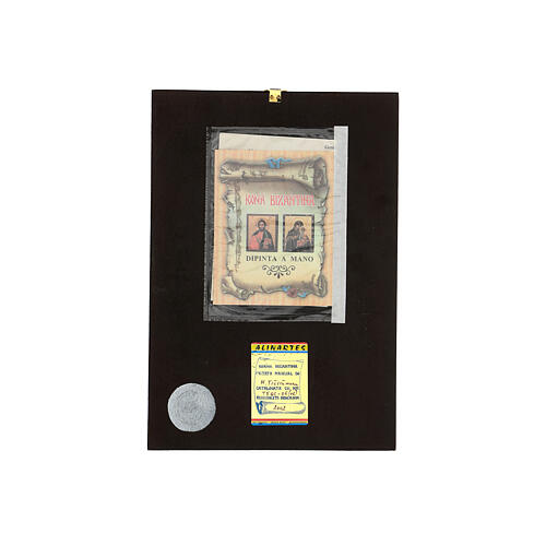 Icona Il Salvatore Pantocratore 30x20 cm Romania dipinta 4