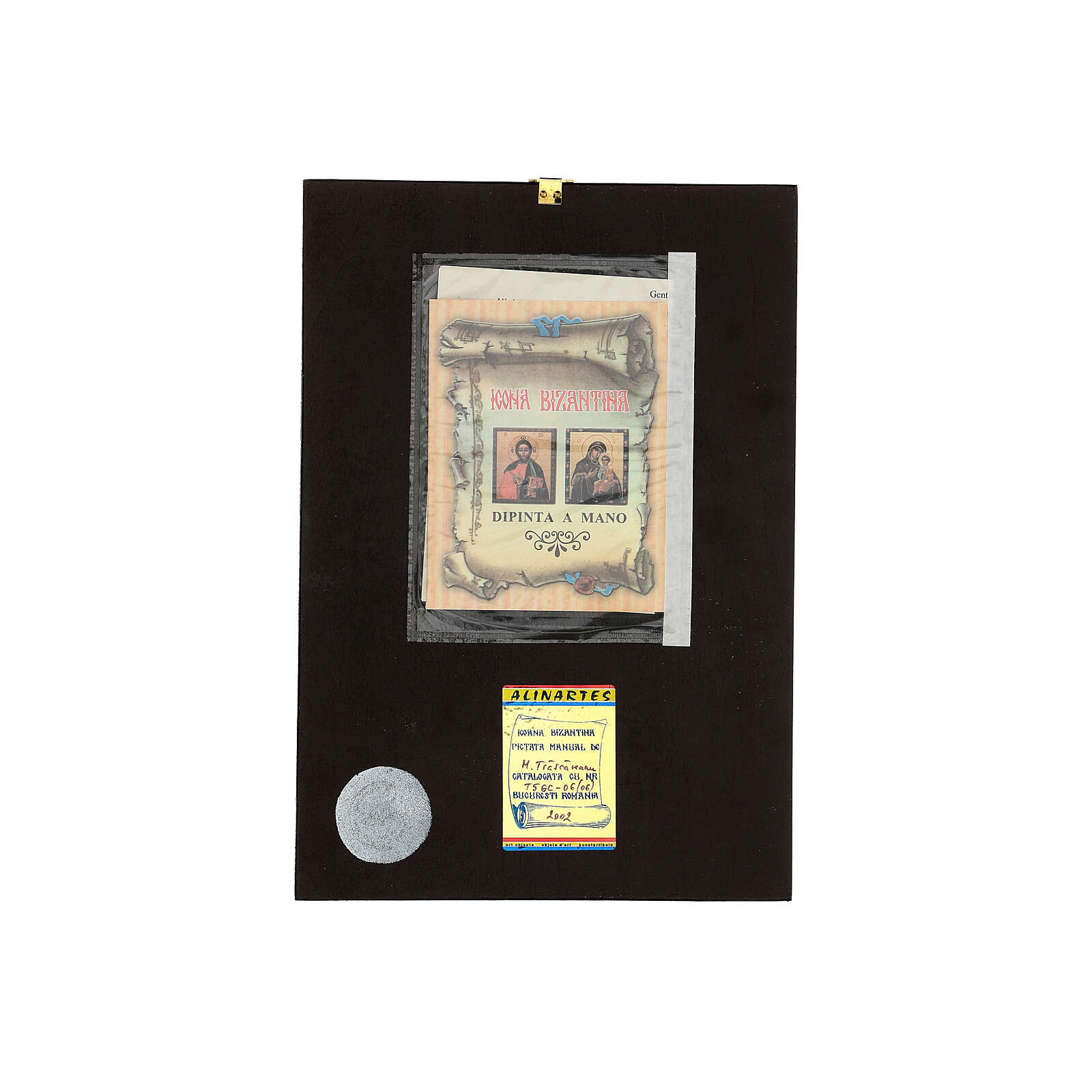 Christ Savior Pantocrator icon, 30x20 cm painted Romania 4