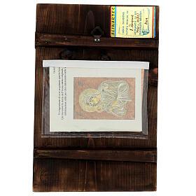 Icône Mère de Dieu Muromskaya Roumanie peinte à la main 30x20 cm s4