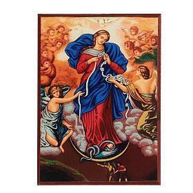 Icona stampa Grecia Maria scioglie nodi cornice 24X18 cm s6