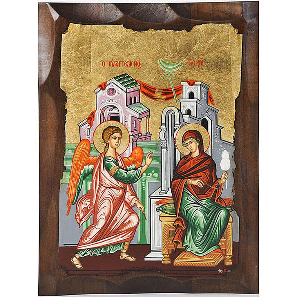 Icona Annunciazione Grecia serigrafata 4