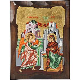 Icona Annunciazione Grecia serigrafata s1
