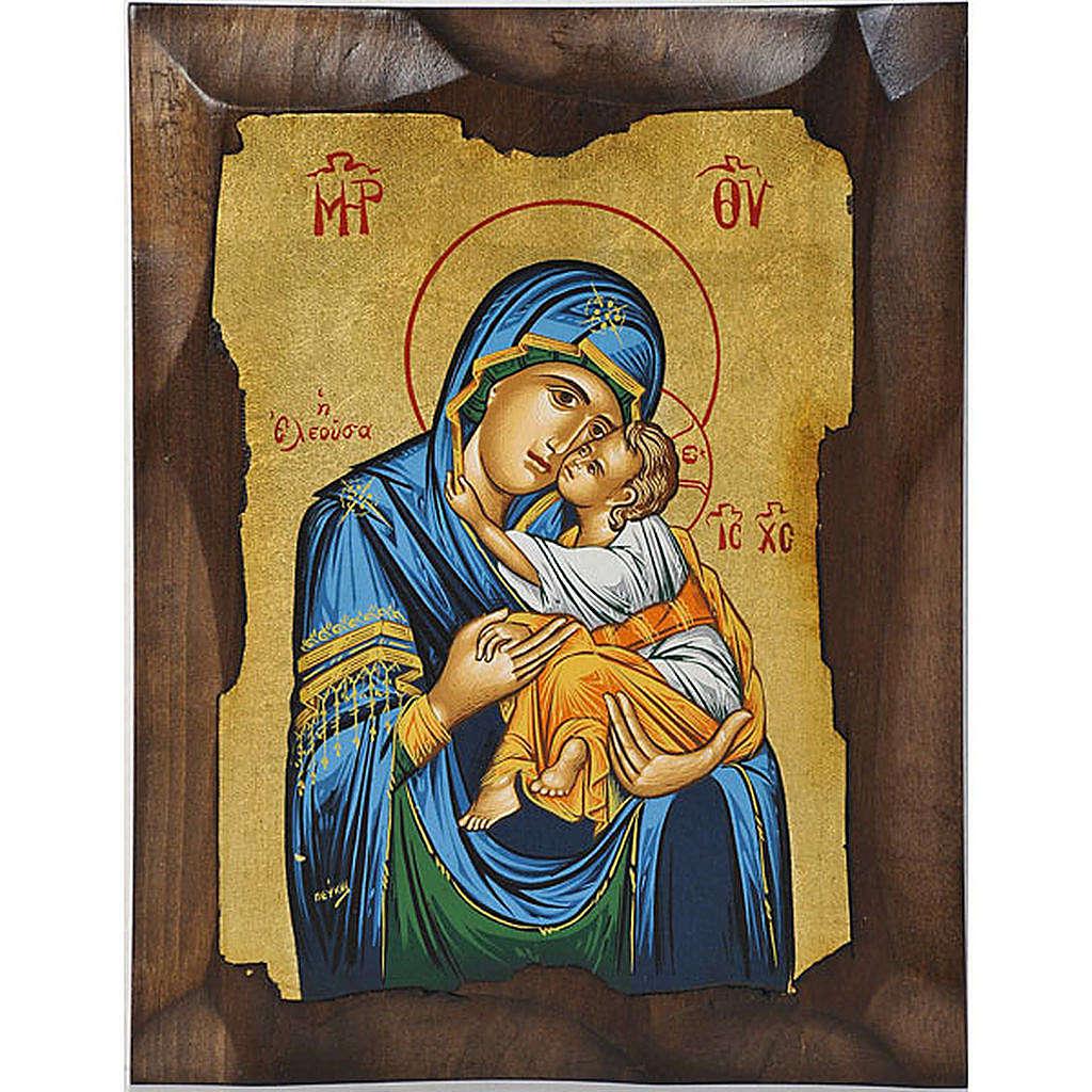 Icona Vergine della Tenerezza Eleousa Grecia 4