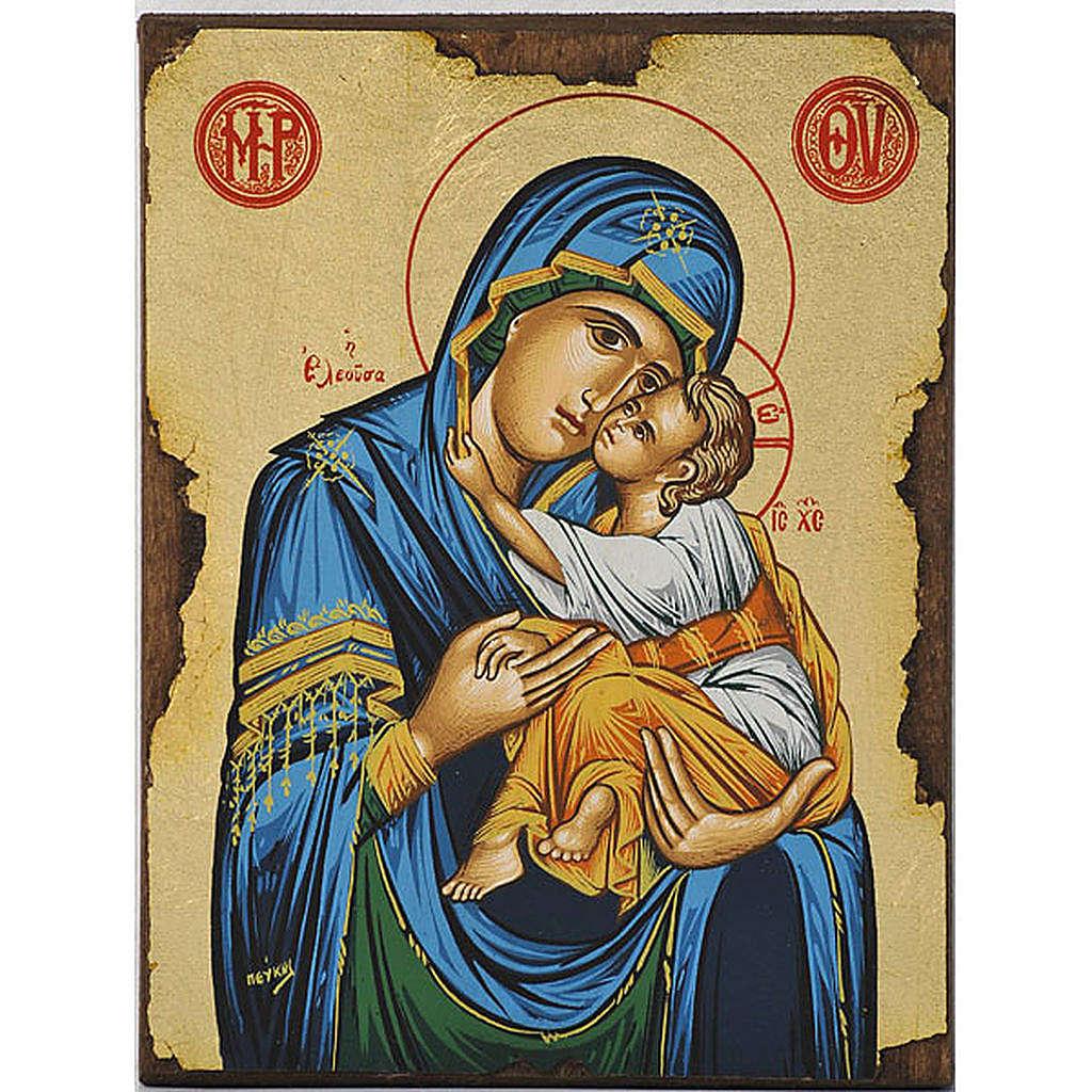 Icona Vergine della Tenerezza Eleousa 4