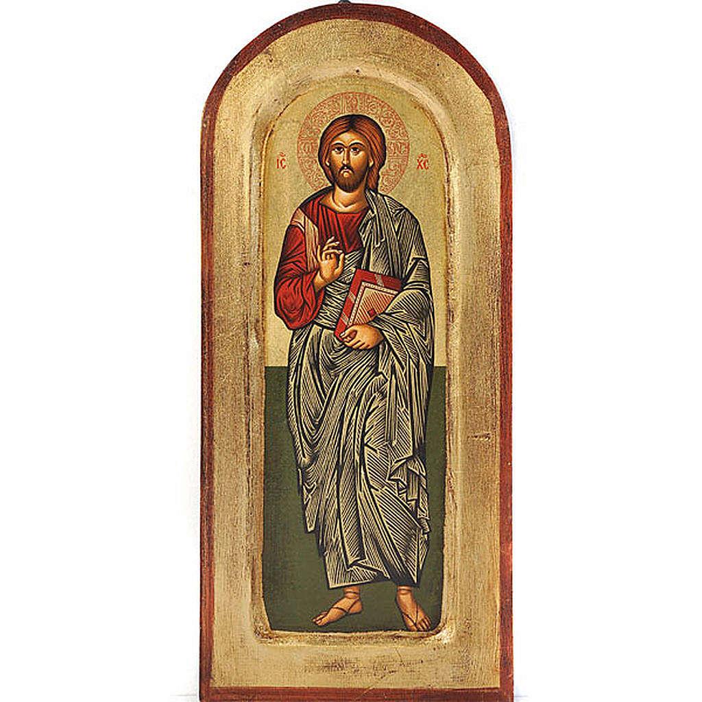 Icona Cristo Pantocratico libro chiuso 4