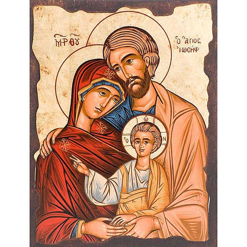 Ícone grego Sagrada Família 4